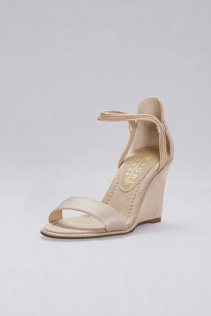 Nude Shoes Heels Flats For Any Occasion Davids Bridal