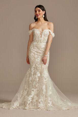 Long Mermaid / Trumpet Wedding Dress - Galina Signature