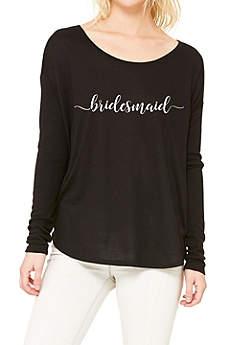 Bridesmaid Calligraphy Shirt