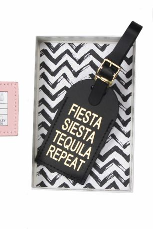 Fiesta Siesta Luggage Tag