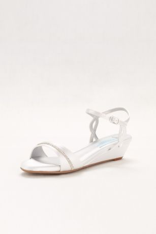 Touch Ups (Touch Ups Mallory Dyeable Wedge Comfort Sandal)