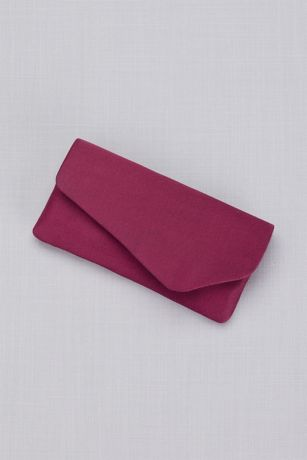 Dyeable Crepe Clutch
