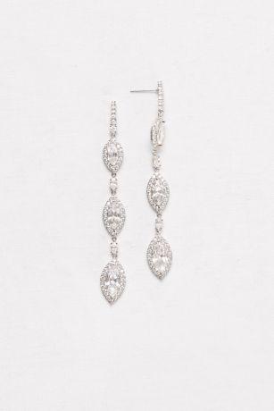 2c47dcc63cf4 Marquise-Cut Cubic Zirconia Drop Earrings