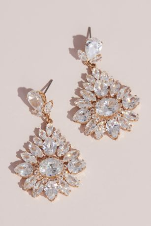 58a4cc69e094b Marquise-Cut Crystal Burst Stud Earrings