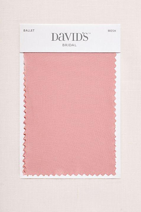a25df3923e4a Ballet Fabric Swatch | David's Bridal