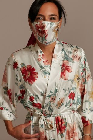 Grand Blooms Face Mask with Adjustable Ear Loops