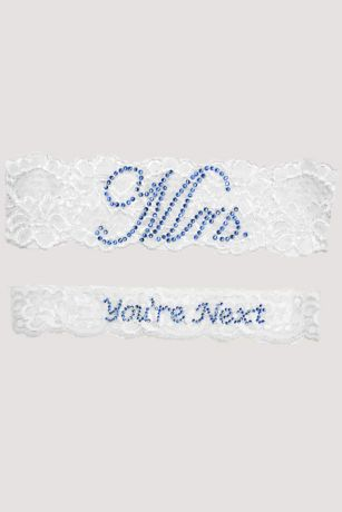 "Mrs and You""re Next Garter Set"