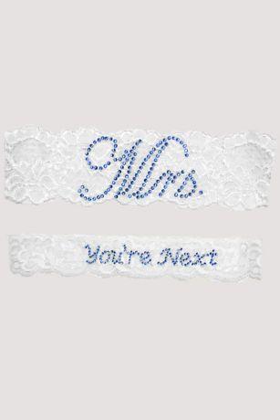 "Mrs and You""re Next Garter Set"