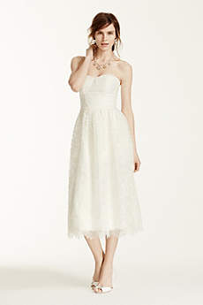 Short A-Line Beach Wedding Dress - Melissa Sweet