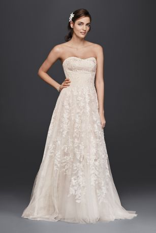As-Is Lace A-Line Wedding Dress