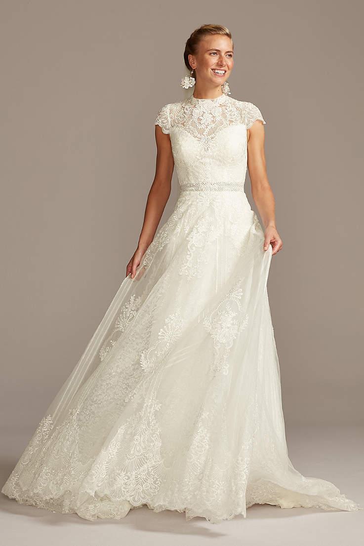 Cap Sleeve Wedding Dresses & Bridal Gowns   David's Bridal