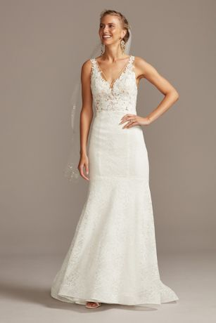 Long Mermaid/ Trumpet Wedding Dress - Melissa Sweet