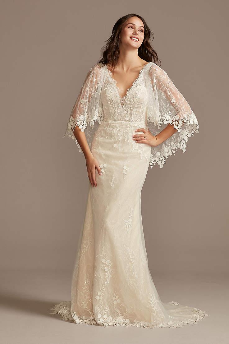 Vintage Sixties Bride Sixties Chiffon Wedding Dress Vintage 20s ...