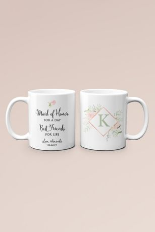 Personalized Friends for Life Maid of Honor Mug