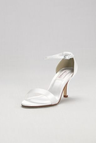 Dyeables White Sandals (Dyeable Single Strap Sandal)