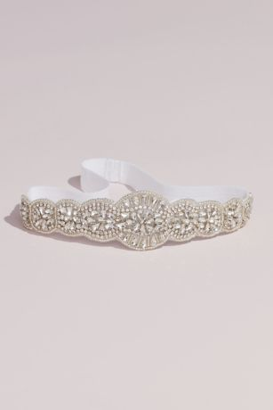 Allover Beaded Vintage Inspired Garter