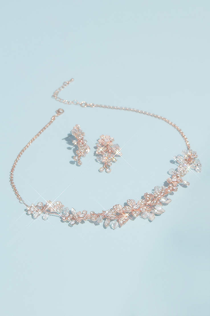 Rose Gold Jewelry Earrings Accessories David S Bridal