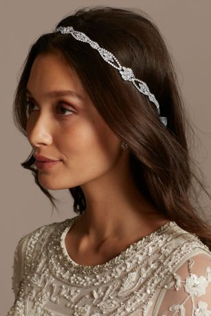 Jeweled Headband with Marquis and Round Crystals