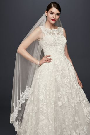 Wedding Dress - Oleg Cassini