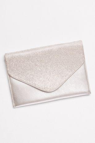 Crystal Flap Envelope Clutch