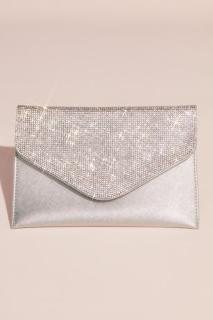 af4f8126e4 Crystal Flap Envelope Clutch · David s Bridal