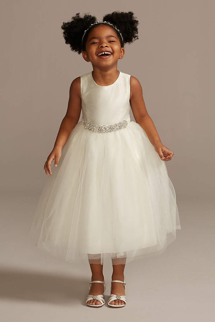 CHAMPAGNE TODDLER FLOWER GIRL DRESS PARTY WEDDING 2//3T 4//4T 5T 6 7 8 10 12 14 16
