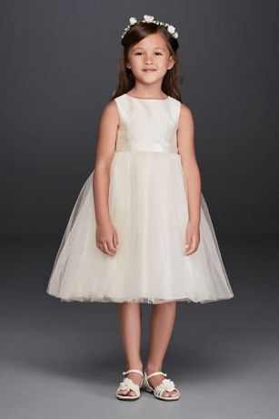 Short Ballgown Tank Dress - David's Bridal