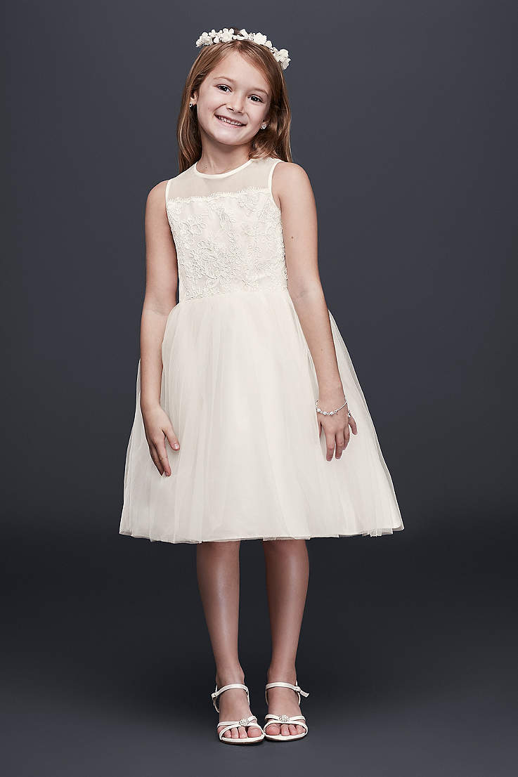 96921706755e Flower Girl Dresses in Various Colors & Styles | David's Bridal