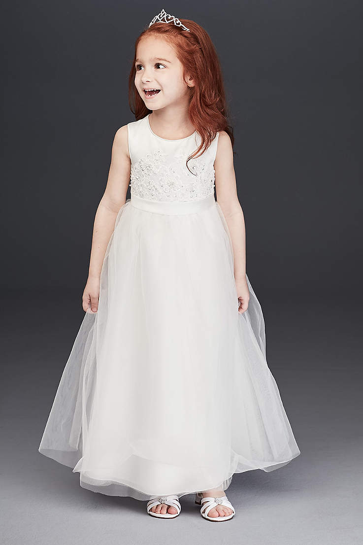 2b62e5a70 Flower Girl Dresses in Various Colors & Styles | David's Bridal
