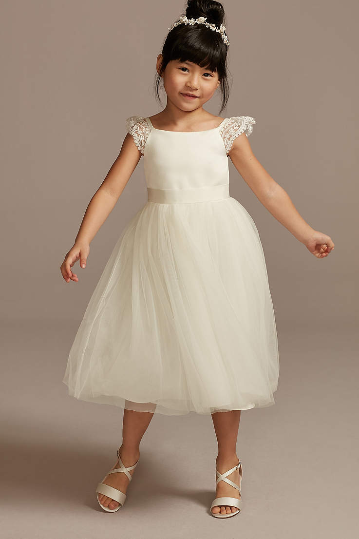 Flower Girl Dresses Every Color Adorable Style David S Bridal