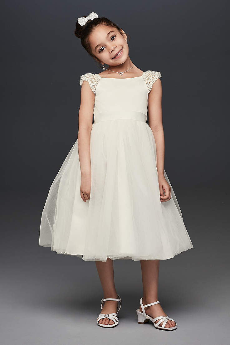 meticulous dyeing processes half price enjoy bottom price Flower Girl Dresses - Every Color & Style | David's Bridal