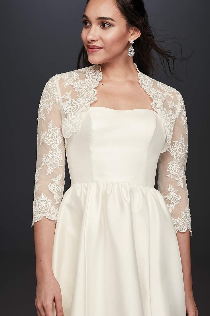 6b25c61eef9 Ivory Wedding Jackets   Wraps