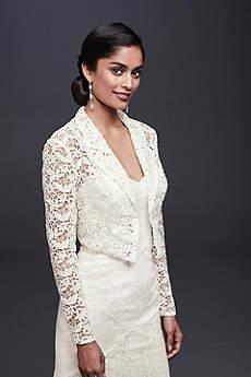 Long-Sleeve Lace Jacket