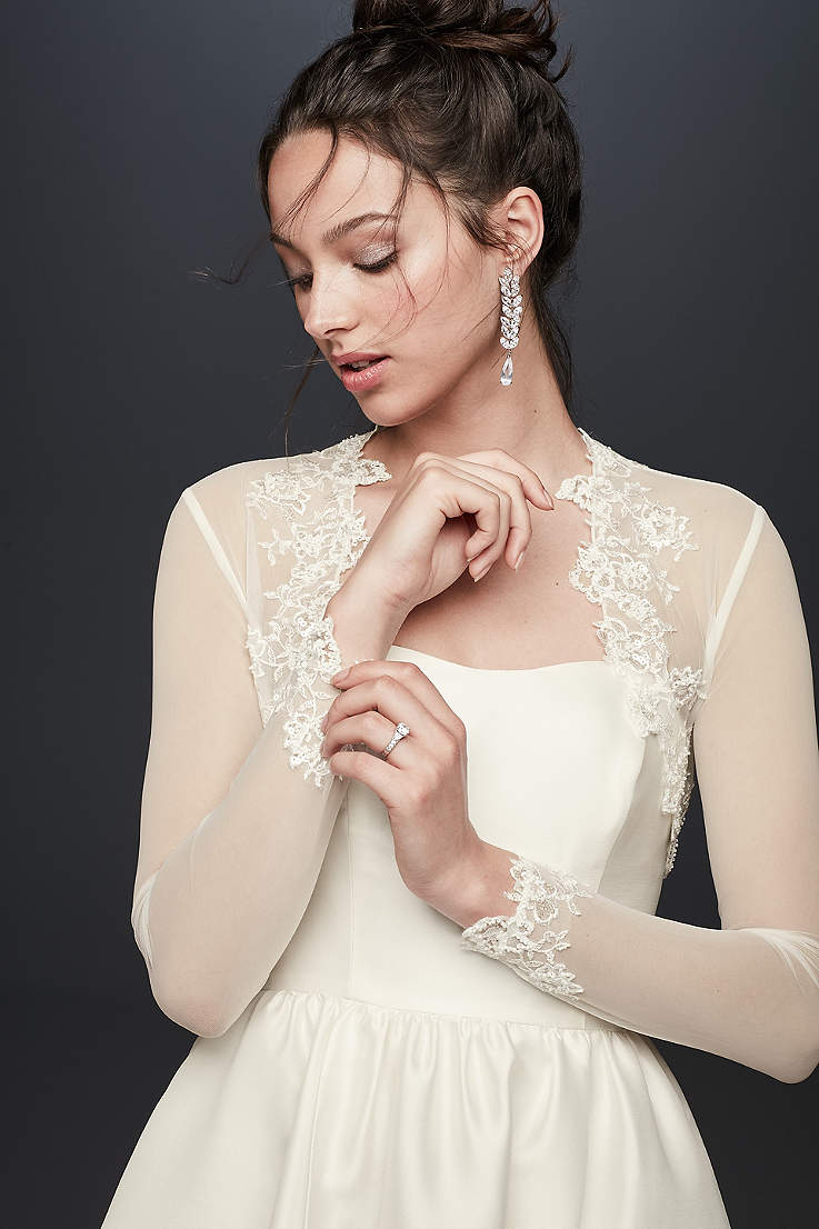 Jackets Wraps Sale In All Sizes David S Bridal