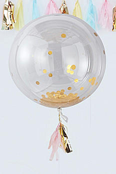 36 Inch Confetti Orb Balloon Pack of 3 PM-ALL