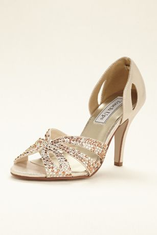 Jeweled dOrsay Pump by Touch Ups