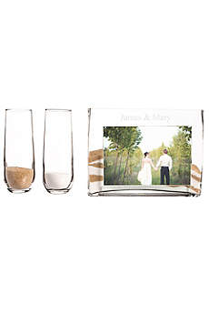 Personalized Sand Ceremony Photo Vase Unity