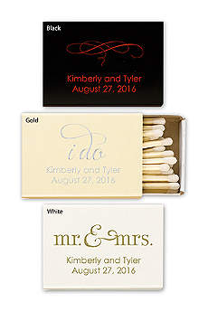 Personalized Match Box with Design