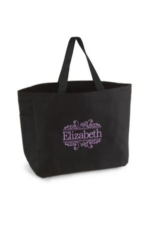 DB Exclusive Personalized Baroque Tote Bags