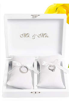 Personalized Ring Bearer Keepsake Box