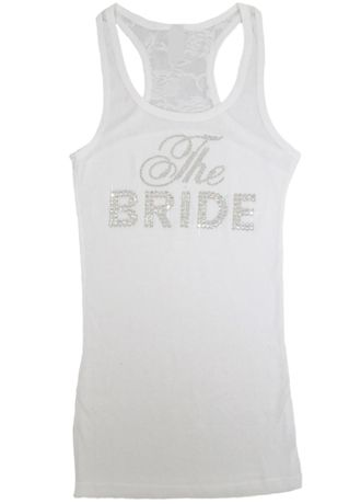 DB Exclusive The Bride Lace Racerback Tank