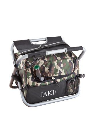 Personalized Deluxe Camouflage Sit n Sip Cooler