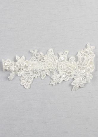 Sea of petals bridal garter davids bridal sea of petals bridal garter junglespirit Image collections