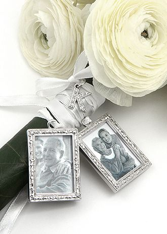 DB Excl Personalized Photo Bouquet Charm Set