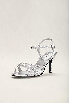 Touch Ups Grey Sandals (Touch Ups Dulce Strappy Sandal)
