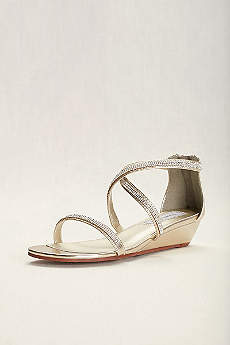 Touch Ups Grey Sandals (Touch Ups Moriah Strappy Wedge Sandal)