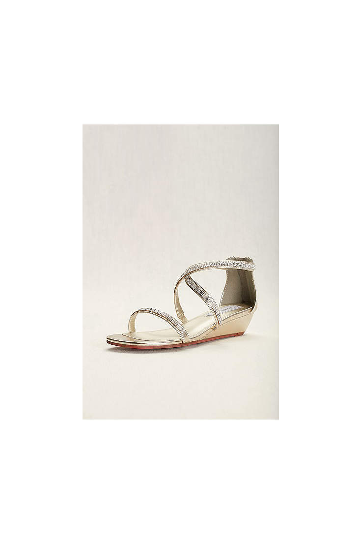 6db7f778b Touch Ups Grey;Yellow Sandals (Touch Ups Moriah Strappy Wedge Sandal)