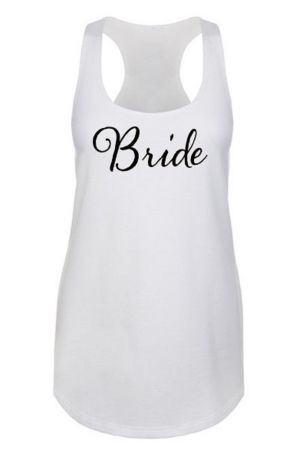 Bride Racerback Tank Top