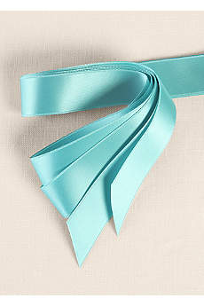 Exclusive 1-Inch Satin Pre-Cut Ribbons Pack of 25