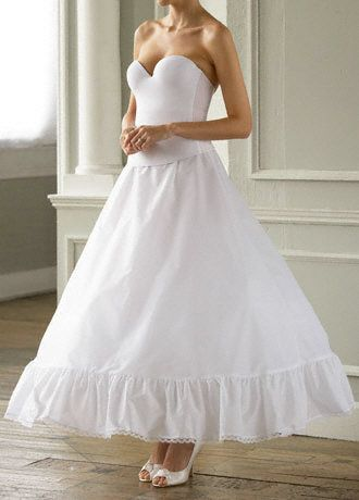 Full Bridal Ball Gown Slip   Wedding Accessories